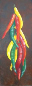 Peppers-Acrylic-Sold