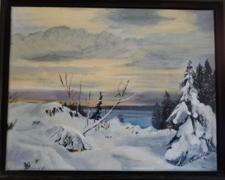 Snow by Sea (Davis Bay